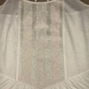 American Eagle Outfitters Tops - Ivory American Eagle Tank